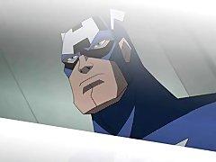 Preview 2 of Superhero Hentai - Wonder Woman Vs Captain America