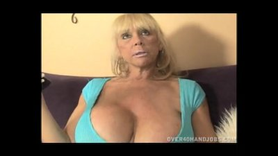 Blonde Granny With Huge Tits H
