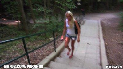 Mofos - Hot euro blonde gets p
