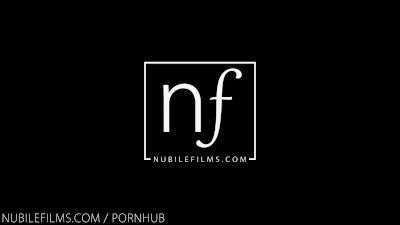 Nubile Films - Busty hottie uses her pussy to stroke cock