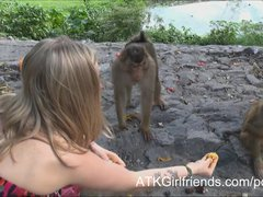 Young Karla Kush gets a creampie on your Virtual Vacation to Malaysia