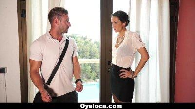 OyeLoca - Sexy Samia Duarte Enjoys Big Cock