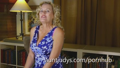 Aunt Judy's Interviews the Perpetually Horny Lady Dalbin