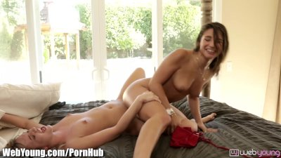 Britney Madison Double Anal Gang Fuck british euro brit european cumshots swallow