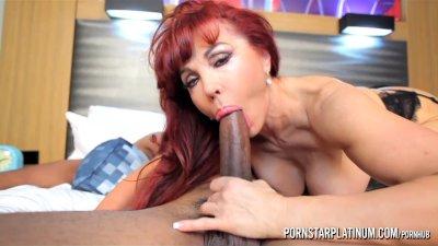 PornstarPlatinum - Sexy Vanessa and big black cock
