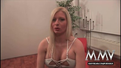 MMVFilms German sperm diva loves bukkake gokkun