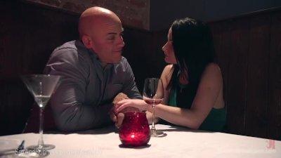 Shy Girlfriend Gets Hardcore Anal