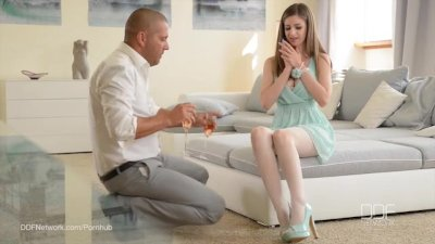 Ultra Sexy UK babe Stella Cox fucks in Pantyhose