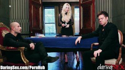 Amirah Adara Ass Fucked on Poker Table