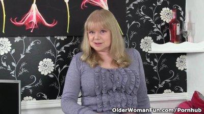 British granny with big tits i