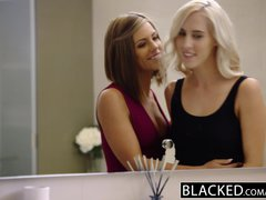 ebonyED Adriana Chechik and Cadence Lux First interracial Foursome