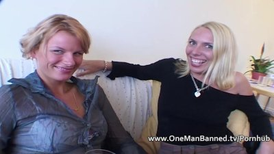 Very tall blonde takes an anal pounding