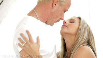 Nubile Films - Busty teen pussy stuffed with hard dick