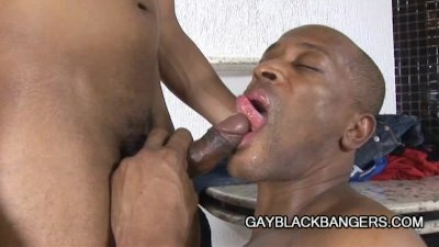 Gay Black Dilfs - Fantastic Rough Anal Sex!