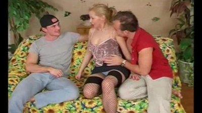 Nasty European Threesome