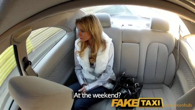 FakeTaxi Young Euro girl penetrated b...