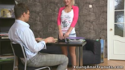 Young Anal Tryouts - This anal thing becomes highly addictive