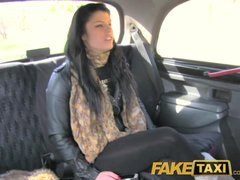 Preview 2 of Faketaxi Her Choice Is Get Out And Walk Or Suck His Cock