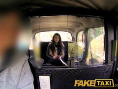 Preview 3 of Faketaxi Her Choice Is Get Out And Walk Or Suck His Cock