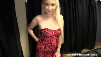 POV Wars Blonde cutie Ranie gets perkier after each guy