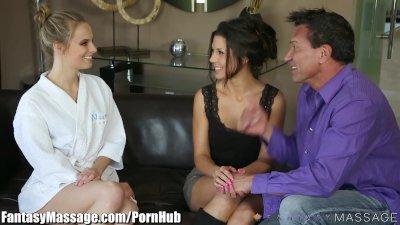 FantasyMassage Jillian Janson Erotic 3Some