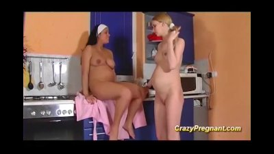 cute lesbian preggo teen sex
