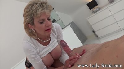 British milf sonia trades her car for pussy - 62 part 9