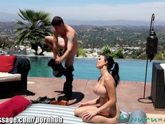 Preview 3 of Nurumassage Jasmine Jae's Stepson Joins In