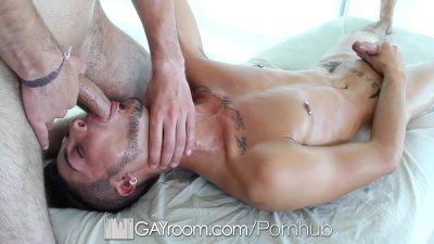 GayRoom - Massage Bait Gabriel Knight Pounded by Dimitri Kane