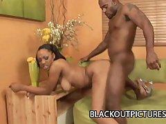 Sin A Men   Sex Sinner Ebony Banged By A Big Black Boner
