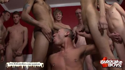 Bukkake Boys - Double penetration freak