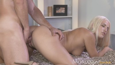 MOM After oil massage and ass