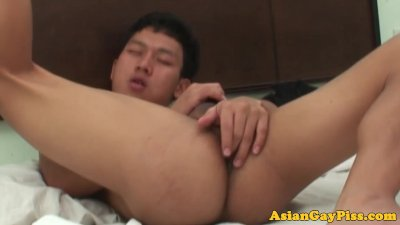 Asian Twink Bareback Assfucking