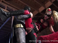 Wicked   Batman fucks Kleio Valentien as Harley Quinn