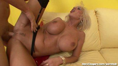 Hot Blonde MILF Fucks The Plumber!