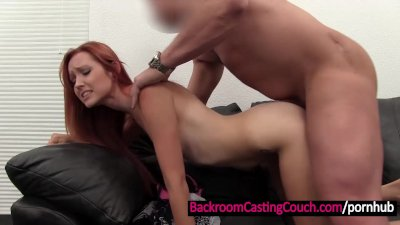 Cute Redhead Ass Fucked and Creampied