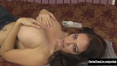 Sexy MILF Charlee Chase Gets A Pearl Necklace