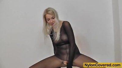 Nathaly nylon suit and mask