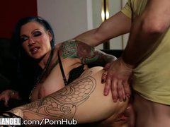 Tattooed Step Mom Tests out Sons Big Dick