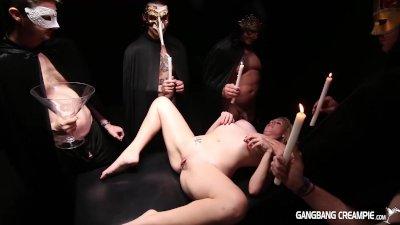 Gangban Creampie sexy seance g