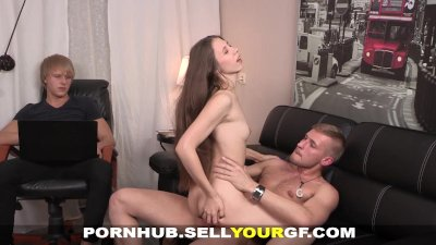 Sell Your GF - Teeny fucked fo