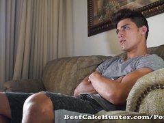 Preview 1 of Described Video - Gay Worshiping A Florida Beach Young Dude