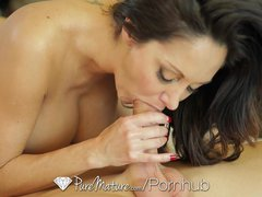 Preview 7 of Hd Puremature - Ava Addams Massive Rack Gets Her Guy Hard