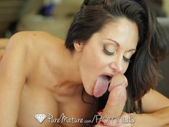 Preview 8 of Hd Puremature - Ava Addams Massive Rack Gets Her Guy Hard
