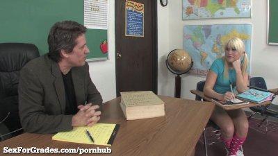 Teen Slut Becomes The Teacher's Pet!