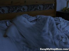 Hot Young Step-mom Bangs Step-son!