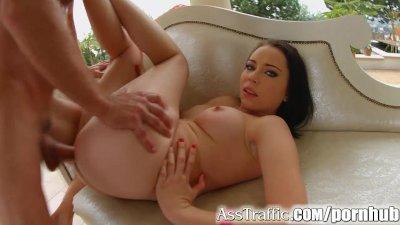 Ass Traffic Rough treatment for ass fucked girl