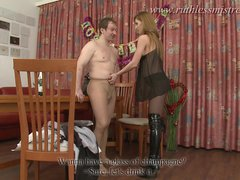 RuthlessMistress.com - Femdom group strapon party