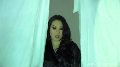Asa Akira Plays With Her Wet P