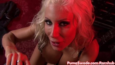 Euro Hottie Puma Swede Sucks Till Facial!